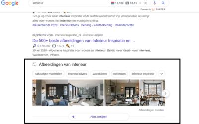 Afbeeldingen in Google laten ranken; Hoe doe je dat?