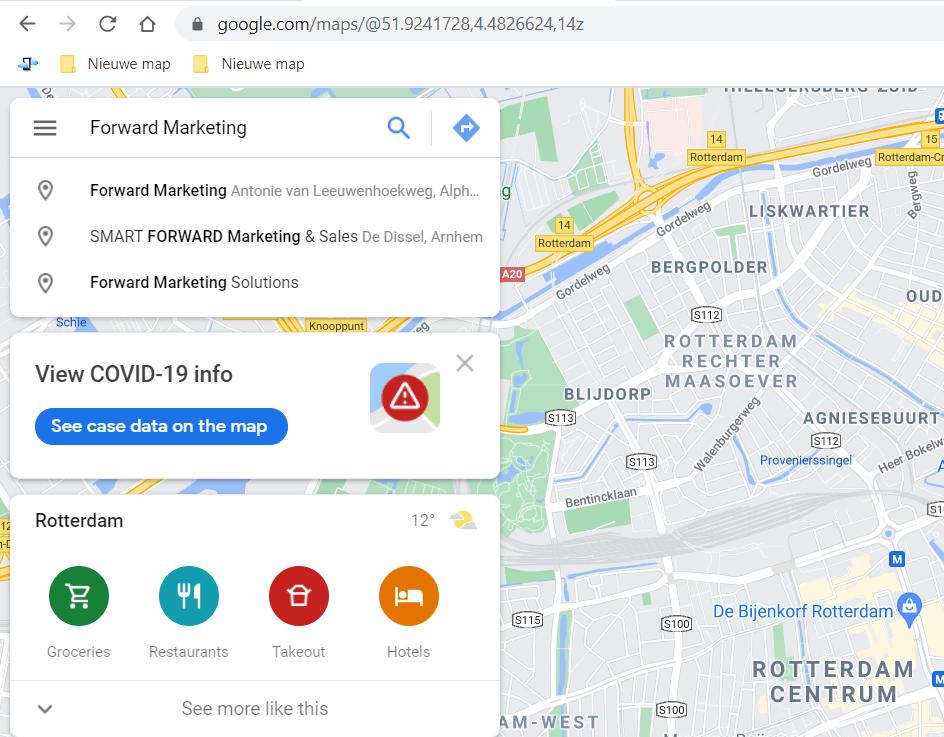 Google Maps vermelding invullen voor jouw bedrijf