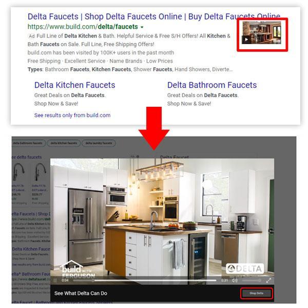 Microsoft advertising video extensie bing video overlay